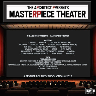 The Architect - Masterpiece Theater - Album Download, Itunes Cover, Official Cover, Album CD Cover Art, Tracklist