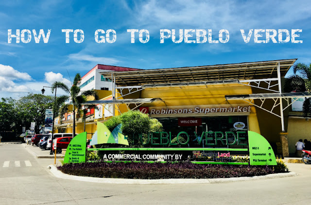 How to go to Pueblo Verde Lapu-Lapu City Cebu