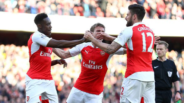 [Video] Cuplikan Gol Arsenal 1-0 Norwich City (Liga Inggris)