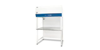 horizontal laminar flow clean bench with glass sides