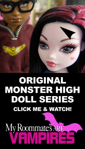 MONSTER HIGH DRAMA MRAV