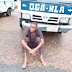 Photo: 24 hours after employment, driver absconds with company vehicle