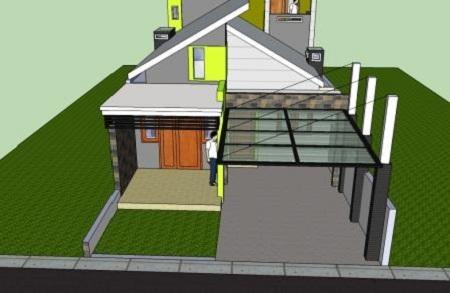 4 Jenis bahan atap kanopi