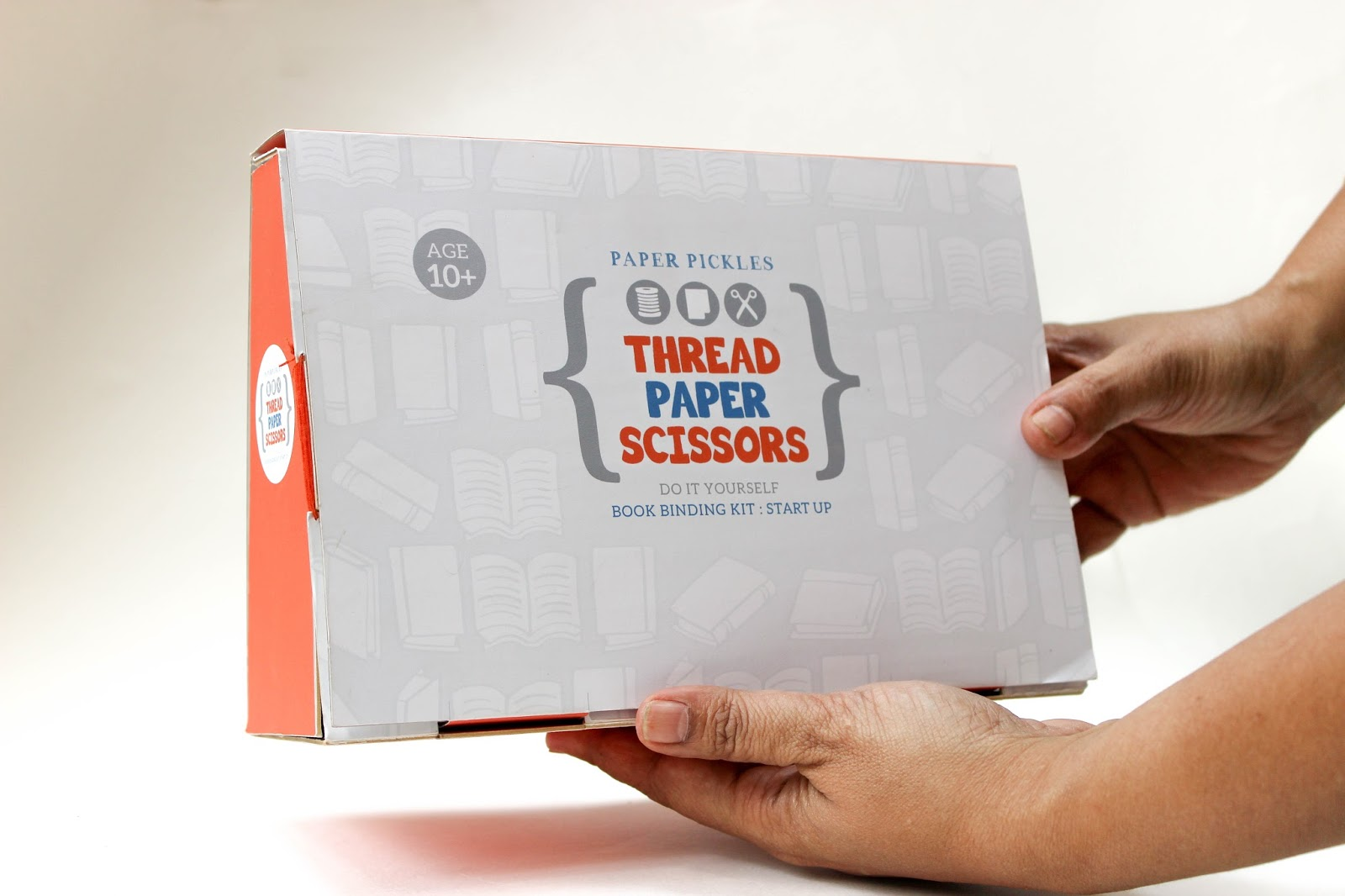 Thread paper scissors book binding kit student project on so here you gohappy binding to you solutioingenieria Choice Image