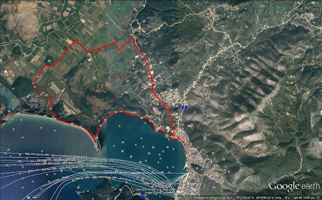 1η ποδηλατοδρομία στην προστατευόμενη περιοχή του Δέλτα Καλαμά