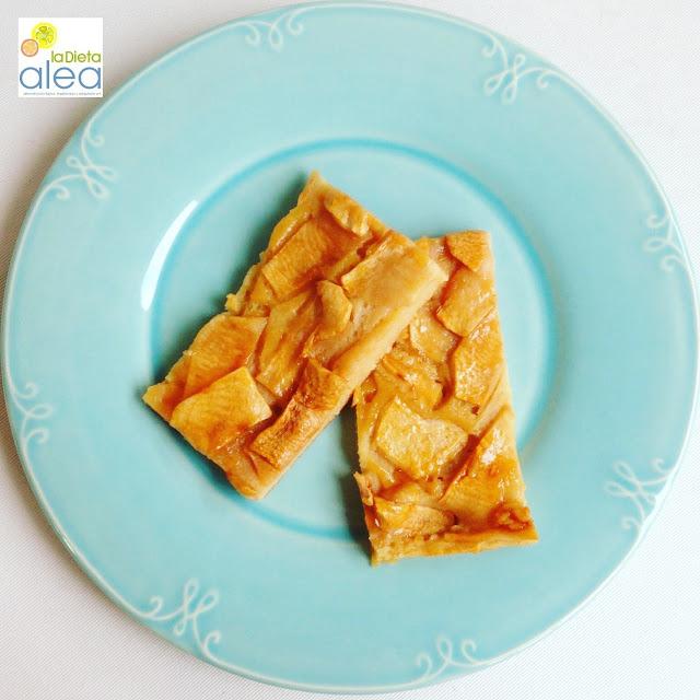 Tarta de manzana en bandeja de horno ALEA