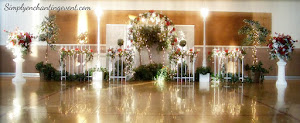 Wrought Iron Wedding Backdrop