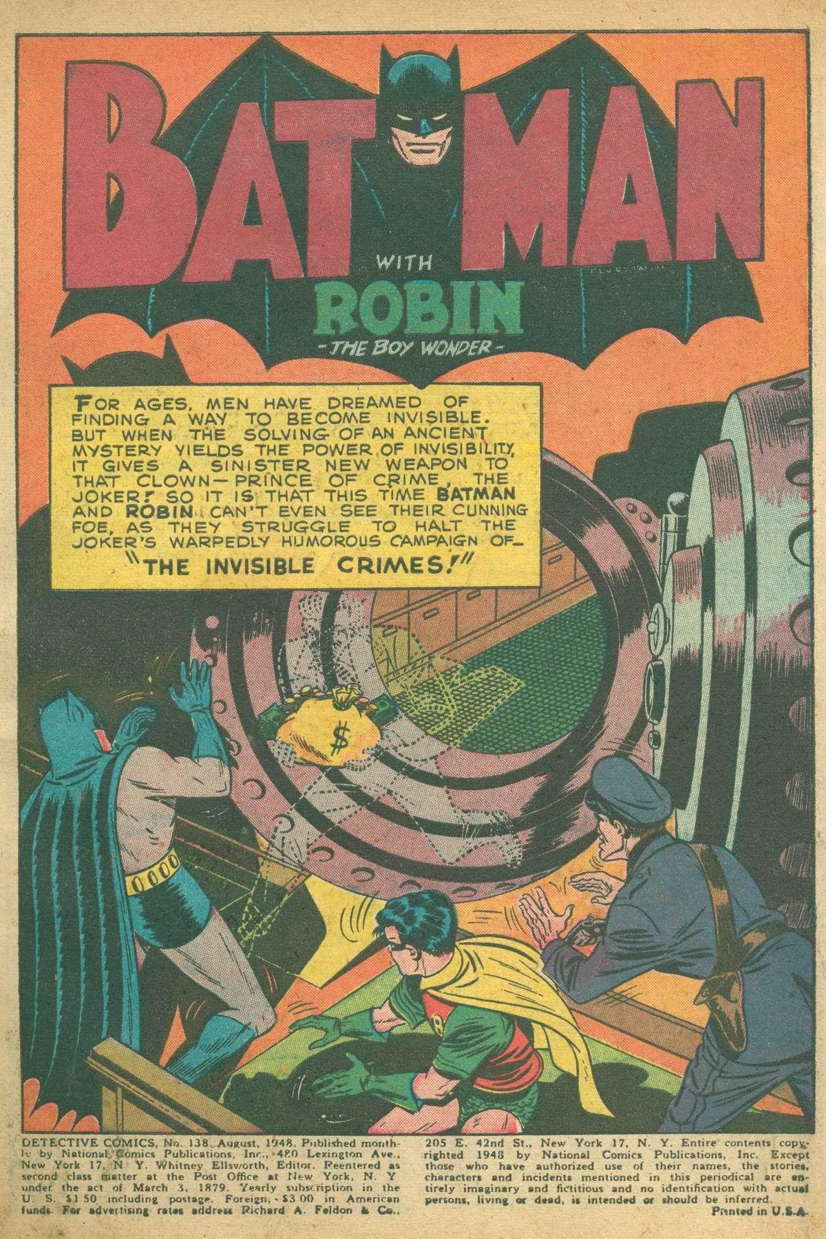 Detective Comics (1937) 138 Page 2