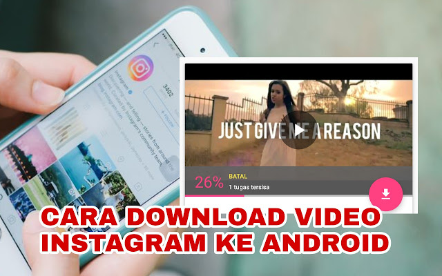 cara download ig ke android