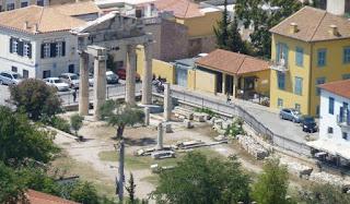 Ágora Romana de Atenas.