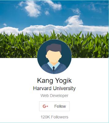 profil card dengan css dan bootstrap