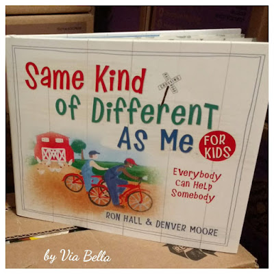 Same Kind of Different As Me for Kids, kids books, book review, book look blog, everybody can help somebody, denver moore, ron hall, via bella