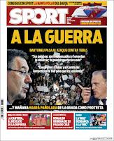 Portadas Deportivas: Sport 28_10_2016