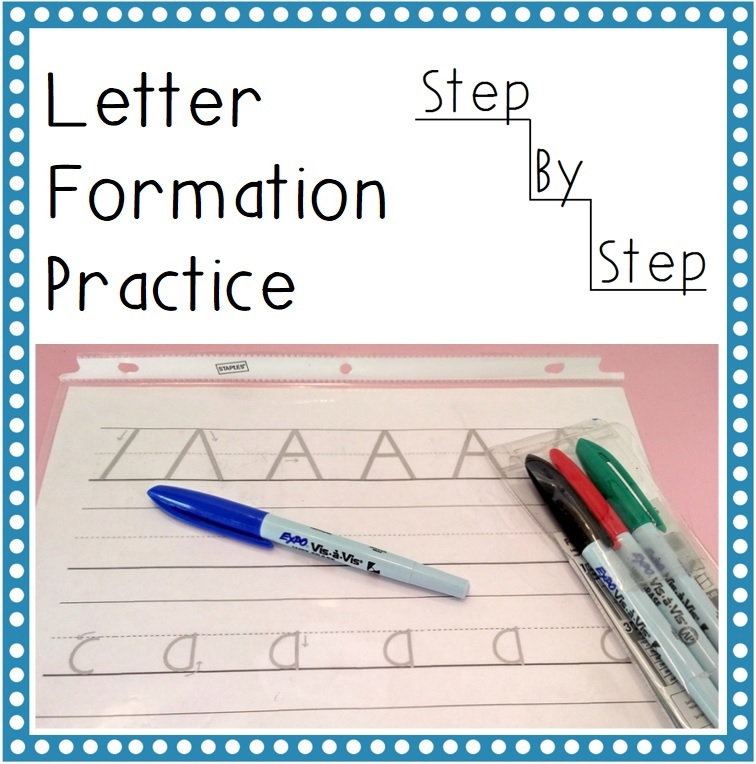 Hassle Free Housewife Letter Formation Practice