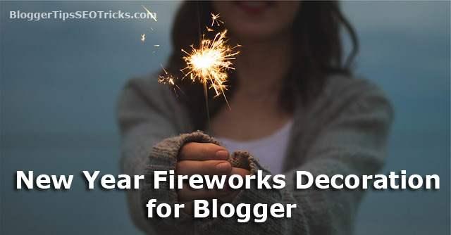 add new year 2017 widget for blogger