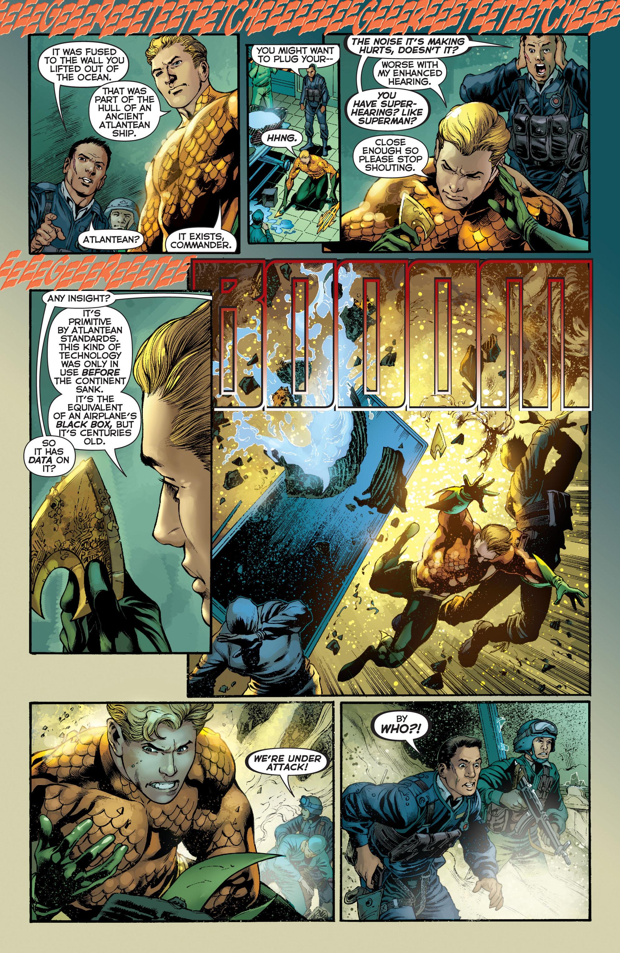 Read online Aquaman (2011) comic -  Issue #5 - 10