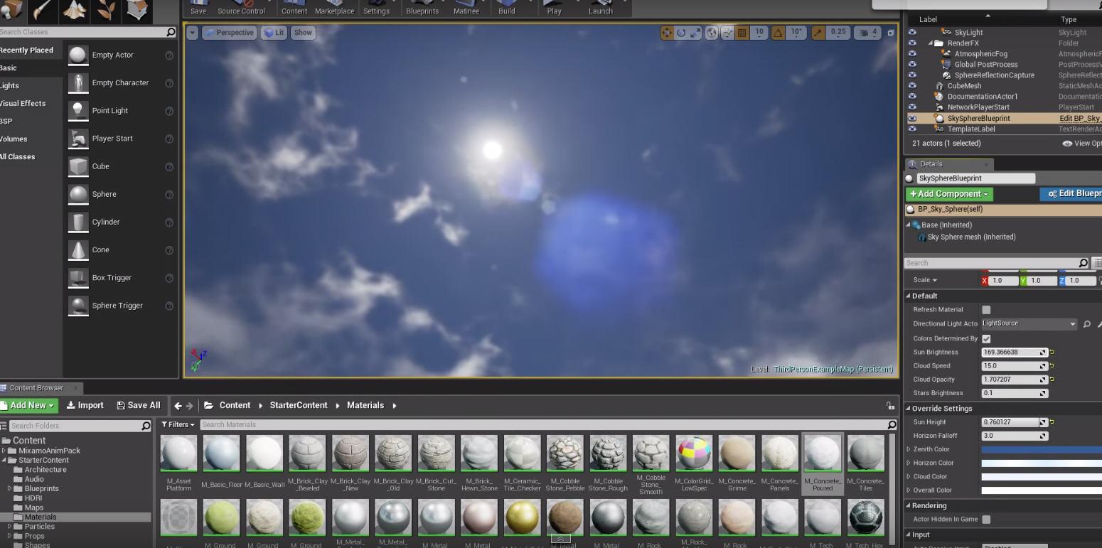 Sky and Lighting Unreal Engine 4 | CG TUTORIAL