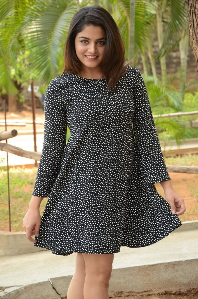 Wamiqa Gabbi Latest Photos In Black Dress
