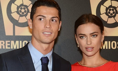 Cristiano Ronaldo confirms break up with Irina Shayk