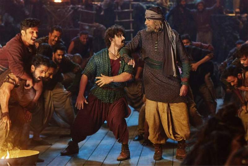 Thugs of Hindostan Movie Screenshot Aamir Khan Amitabh Bachchan