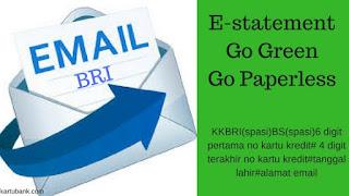 cara daftar tagihan kartu kredit bri via email