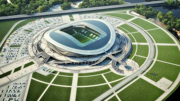 Picturespool Russian Football Stadiums Fifa World Cup 2018