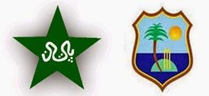 West Indies Vs Pakistan 32nd T20 is on April 1, 2014.