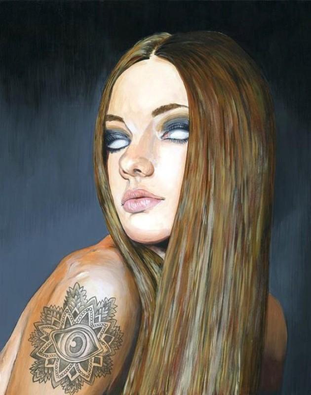 Притягательные и тревожные рисунки Мелиссы Хартли (Melissa Hartley) 9