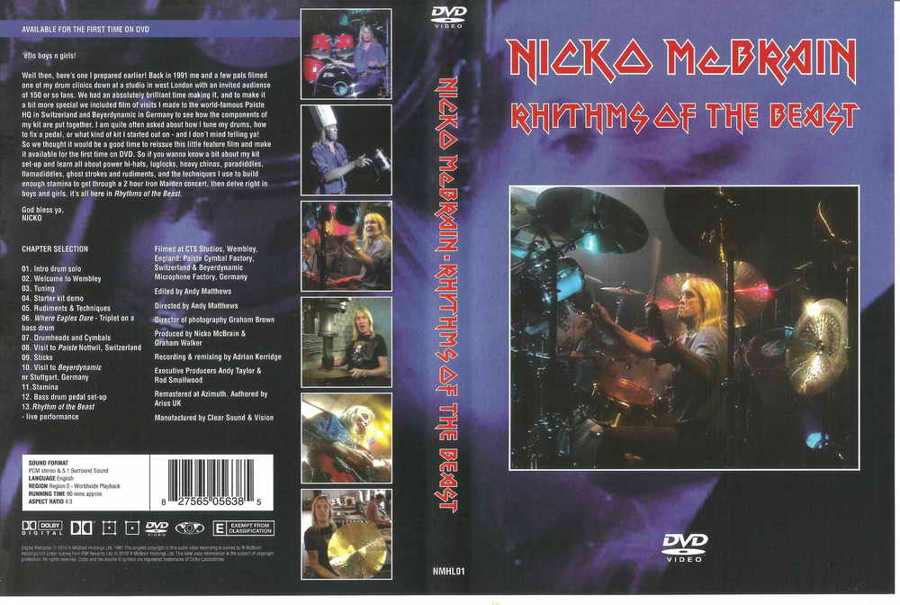 Nicko McBrain - 2010 - Rhythm of The Beast   Loakerz