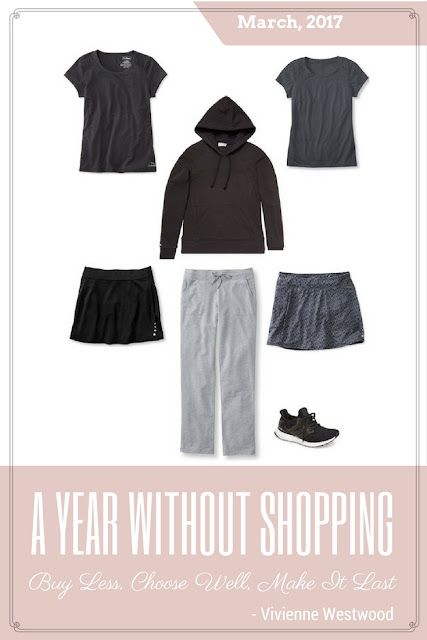 "My Year Without Shopping - March 2017; What do you buy when you aren't shopping for ""clothes""?"