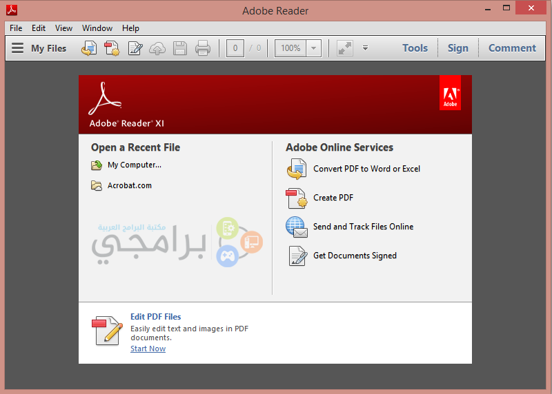 adobe reader pdf reader free download