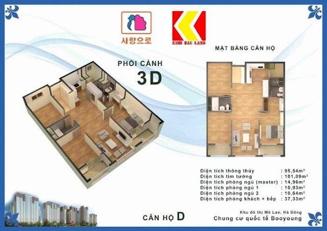Chọn căn hộ Chung cư Booyoung Hình 4