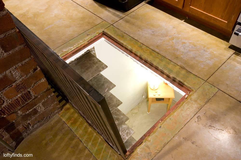 Arquitectura de casas escalera interior de acero inoxidable - Escaleras para sotanos ...