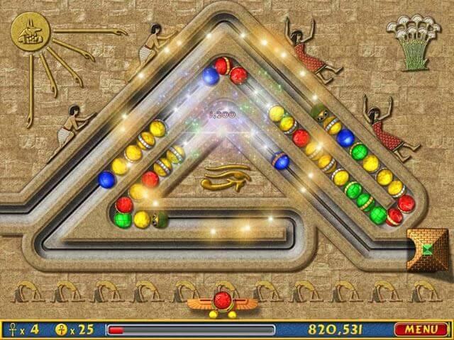 تحميل لعبة زوما الاقصر zuma luxor بجميع الاصدارات  1و2و3و4و5و6 من ميديا فاير مجانا للكمبيوتر