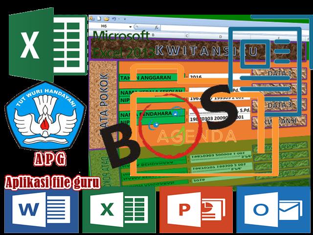 Download Aplikasi Cetak Kwitansi BOS Format Excel