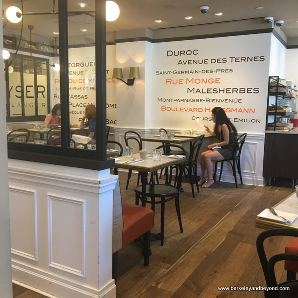 interior of Maison Kayser in NYC