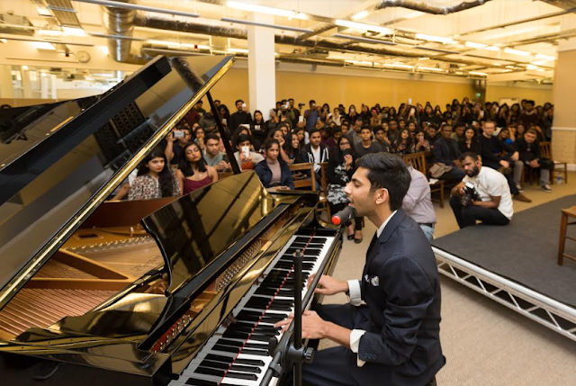 Anirudh Ravichander unveils his new track at the London Musical Showcase