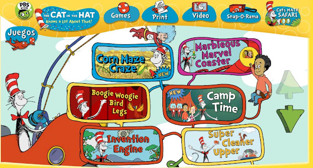 cat in the hat free online games