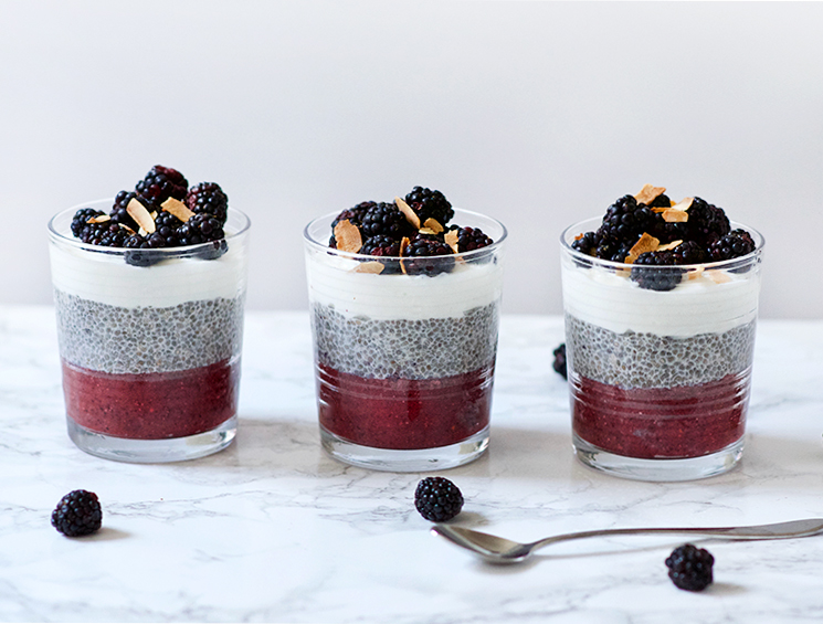 Blackberry Chia Parfait | Obsessive Cooking Disorder