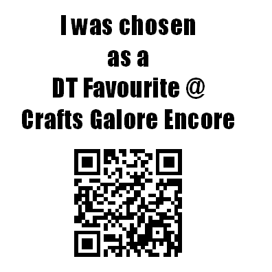 DT FAVOURITE - Craft Galore Encore - AVRIL 2016