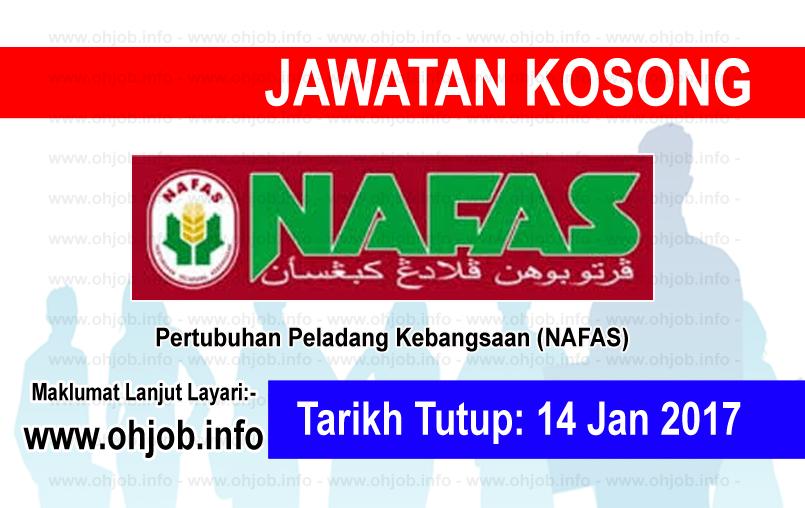 Jawatan Kerja Kosong Pertubuhan Peladang Kebangsaan (NAFAS logo www.ohjob.info januari 2016