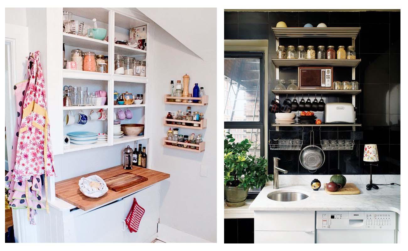 Idee per la tua cucina arredamento facile - Como organizar los muebles en una casa pequena ...