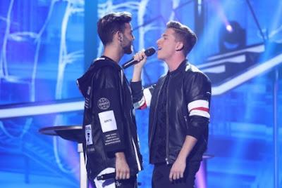 Agoney y Raoul: Manos vacías | Gala 7 OT 2017