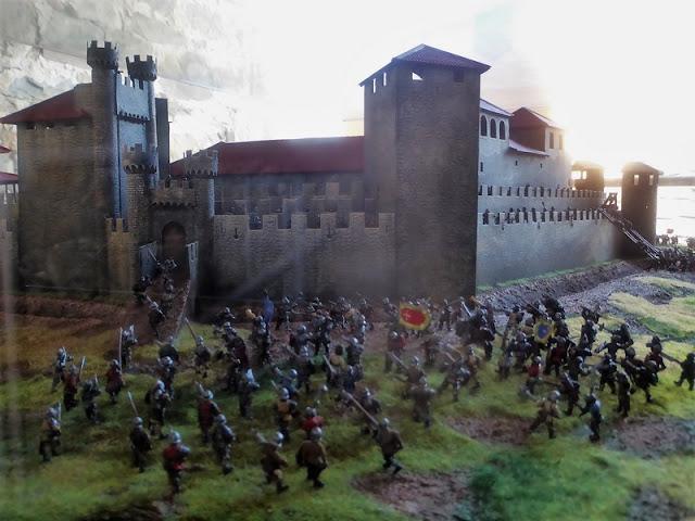 Castillo Templario de Ponferrada, maqueta