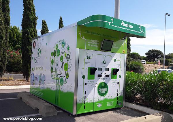 Auchan Pérols recyclage