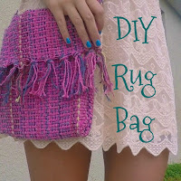 diy rug back, diy cross body bag, diy fabric bag, diy purse, lauren banawa
