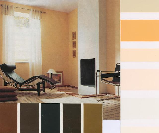 décoration,recherche de teintes, nuancier, ocre, peinture, couleurs, ambiance