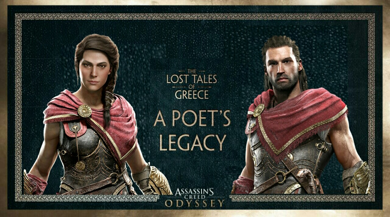 Assassin's Creed Odyssey's Next Lost Tales of Greece Chapter, Poet's Legacy