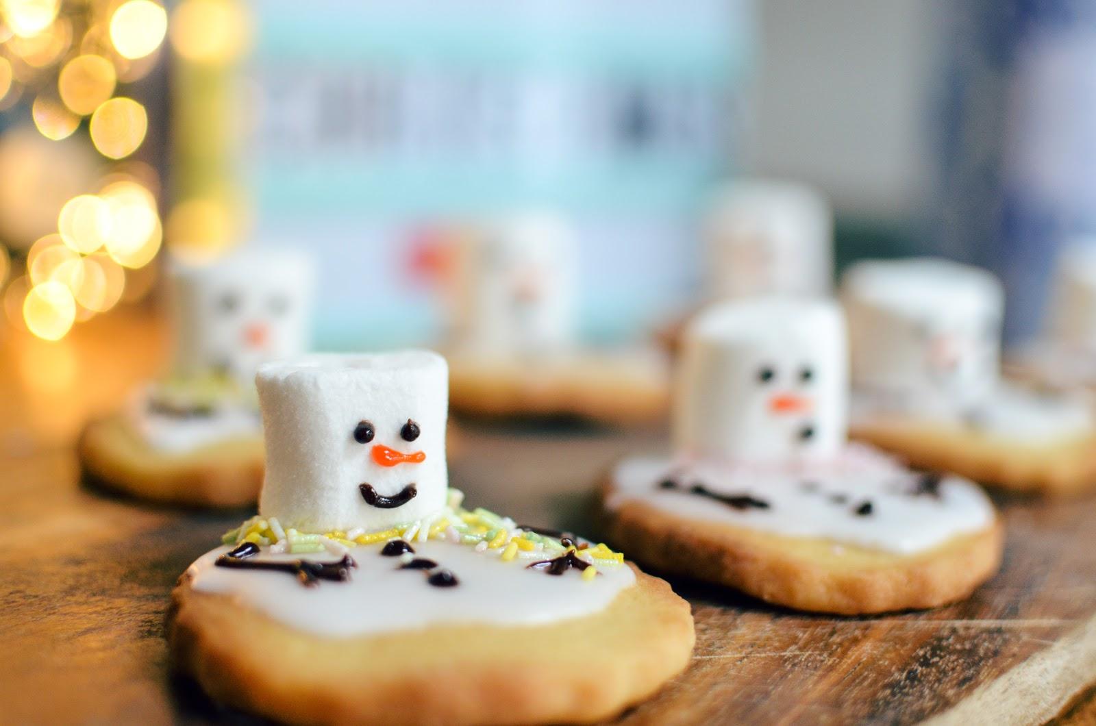 Christmas Baking: Tanya Burr's Snowmen Biscuits