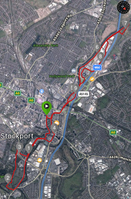 the big stockport 10k run route